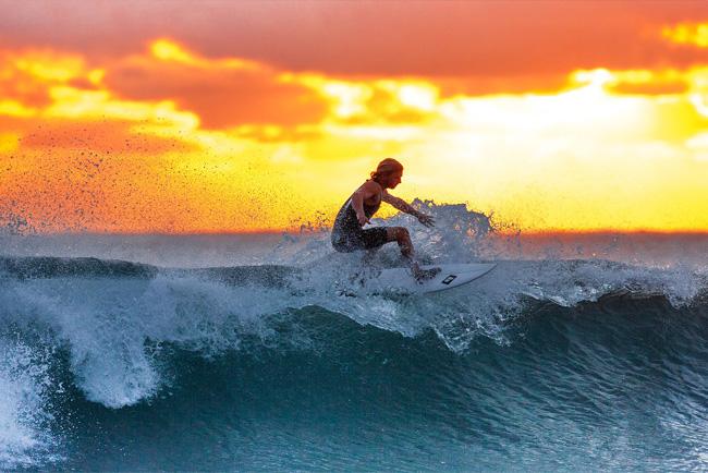 Surf Camp en Salinas. Reglas del Surf