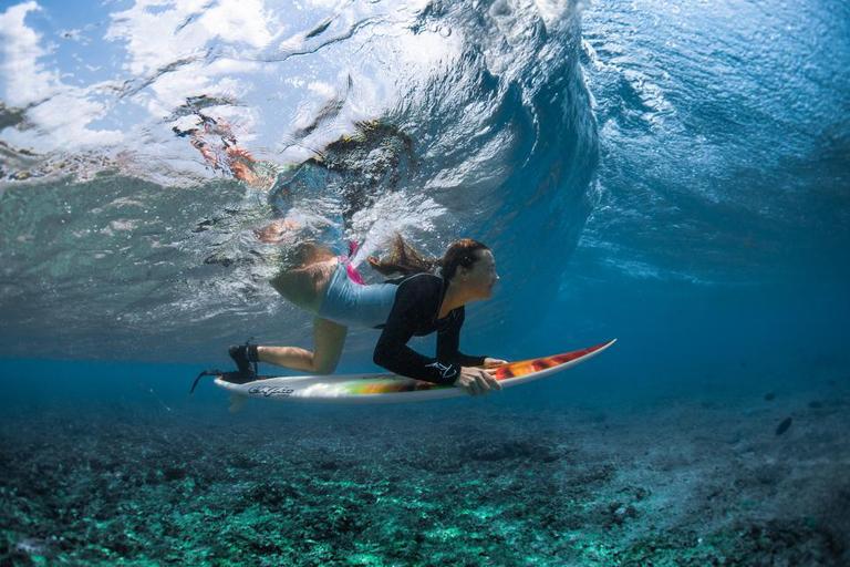 Qué es hacer un pato en surf