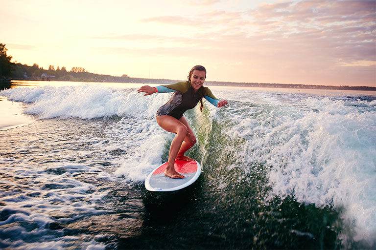 movimientos básicos de surf